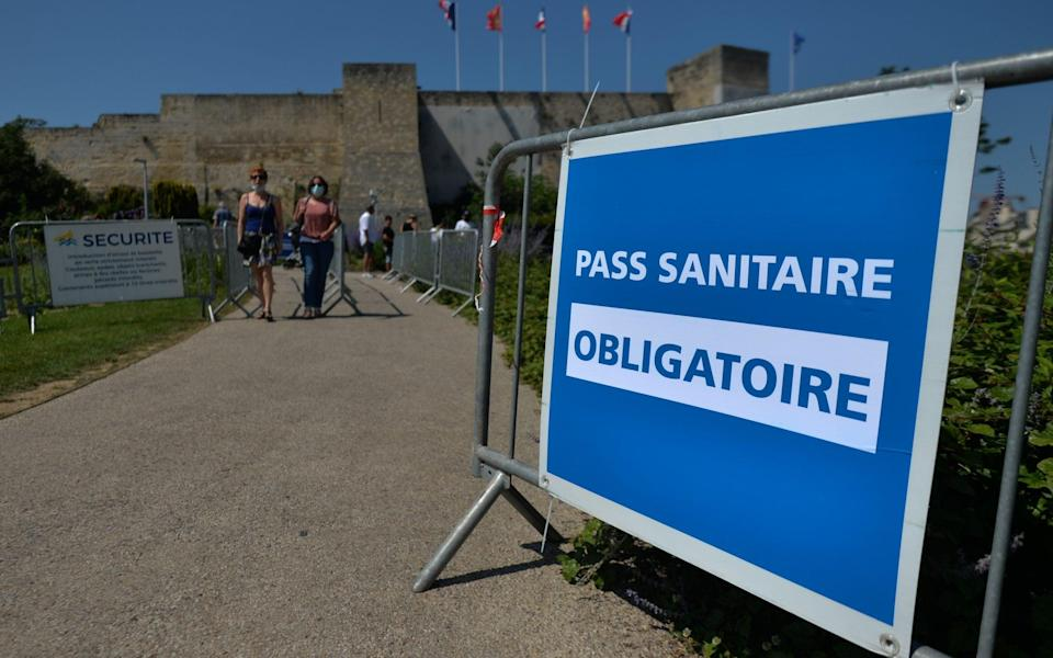 france pass sanitaire - Getty