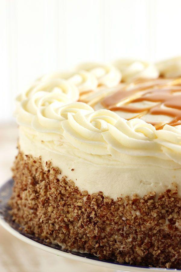 """<p>Thanksgiving could always use a little more bourbon.</p><p>Get the recipe from <a href=""""http://thesuburbansoapbox.com/2015/04/22/kentucky-bourbon-butter-cake-with-cream-cheese-frosting-and-salted-caramel-sauce/"""" rel=""""nofollow noopener"""" target=""""_blank"""" data-ylk=""""slk:The Suburban Soapbox"""" class=""""link rapid-noclick-resp"""">The Suburban Soapbox</a>.</p>"""