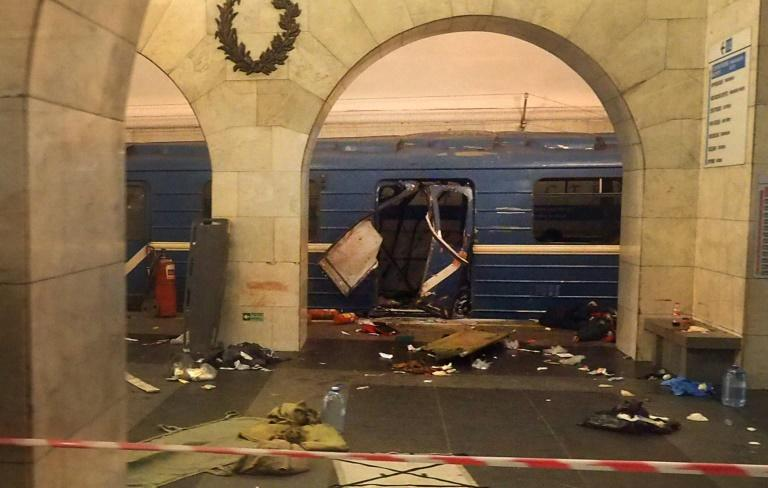 Two sought for deadly blast on St Petersburg underground
