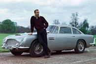 "<p>James Bond's legacy of famous cars and far-out gadgets can be traced back from one car—the 1964 Aston Martin DB5 007 driven in <em>Goldfinger</em> and <em>Thunderball</em>. Without any Bond spy modifications, the Aston Martin DB5 is a work of art. But it's the special effects that have made this car quite possibly the most beloved movie car of all time. The long list of cool tricks included ram bumper, machine guns, ejector seat, smoke screen, oil-slick sprayer, and more. Looking back on the Aston from today's perspective, the most interesting feature may be the map screen in Bond's car, which foreshadowed today's navigation systems. </p><p>So just how influential and significant is the original Bond car? One of the few Astons used in those movies sold last year for a whopping $4.6 million.</p><p><a class=""link rapid-noclick-resp"" href=""https://www.amazon.com/Goldfinger-Sean-Connery-James-Bond/dp/B009GEOX22/?tag=syn-yahoo-20&ascsubtag=%5Bartid%7C10054.g.27421711%5Bsrc%7Cyahoo-us"" rel=""nofollow noopener"" target=""_blank"" data-ylk=""slk:AMAZON"">AMAZON</a></p>"