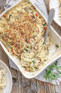 """<p>With poblano peppers, chiles, and pepper Jack cheese, this tetrazzini is like no other one you've had!</p><p><strong>Get the recipe at <a href=""""https://www.goodlifeeats.com/green-chile-turkey-tetrazzini/"""" rel=""""nofollow noopener"""" target=""""_blank"""" data-ylk=""""slk:Good Life Eats"""" class=""""link rapid-noclick-resp"""">Good Life Eats</a>.</strong></p><p><a class=""""link rapid-noclick-resp"""" href=""""https://go.redirectingat.com?id=74968X1596630&url=https%3A%2F%2Fwww.walmart.com%2Fsearch%2F%3Fquery%3Dmeasuring%2Bspoons&sref=https%3A%2F%2Fwww.thepioneerwoman.com%2Ffood-cooking%2Fmeals-menus%2Fg31929060%2Feasy-casserole-recipes%2F"""" rel=""""nofollow noopener"""" target=""""_blank"""" data-ylk=""""slk:SHOP MEASURING SPOONS"""">SHOP MEASURING SPOONS</a> </p>"""