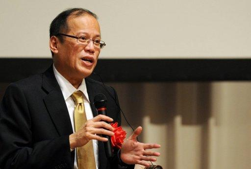 President Benigno Aquino, pictured in 2011, thanked China for its help to finish a major Philippine water project, amid frayed relations between the two countries over disputed territory in the South China Sea