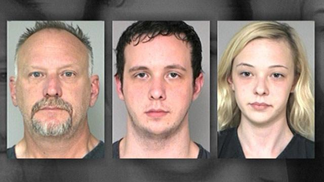 Father, Son and Daughter Arrested in Bank Robberies