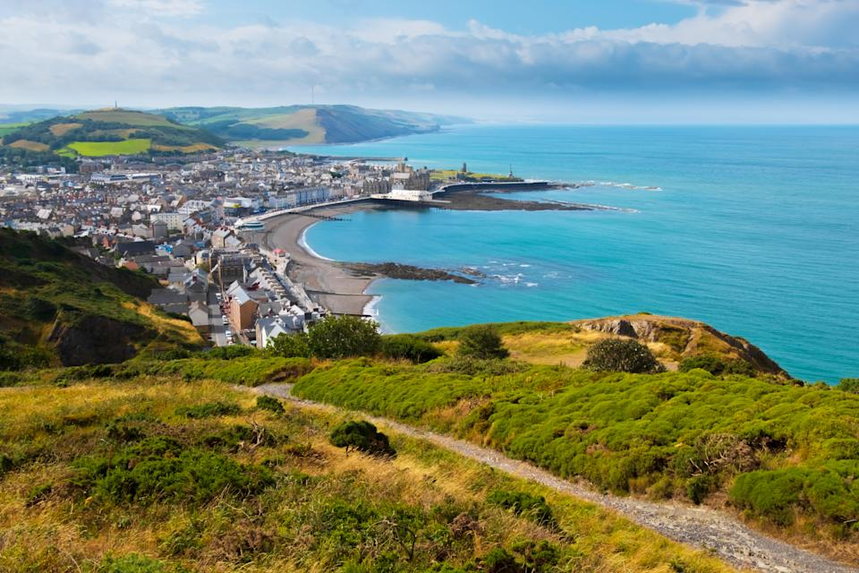 The Cambrian Line will take you from Shrewsbury to Aberystwyth (Getty Images)