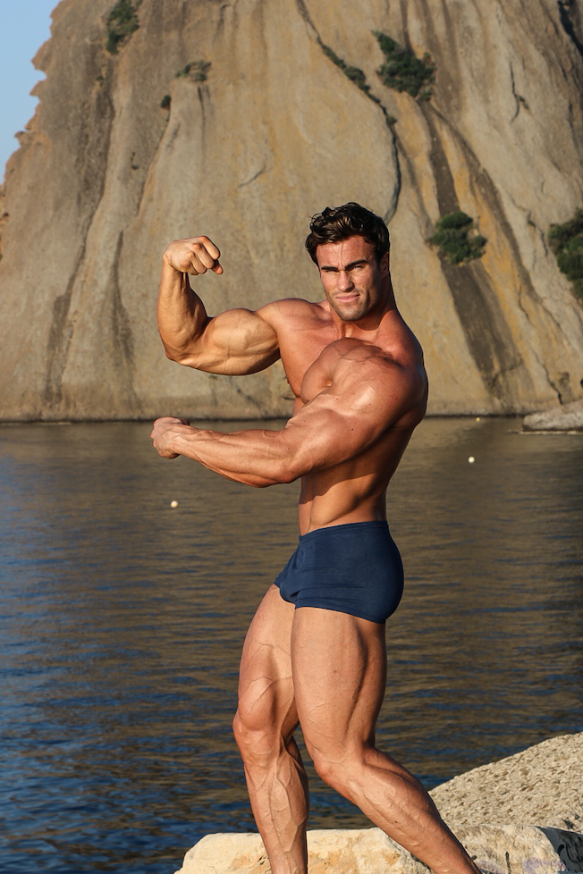 Calum von Moger is Mr Universe 2015. Photo: Contributed