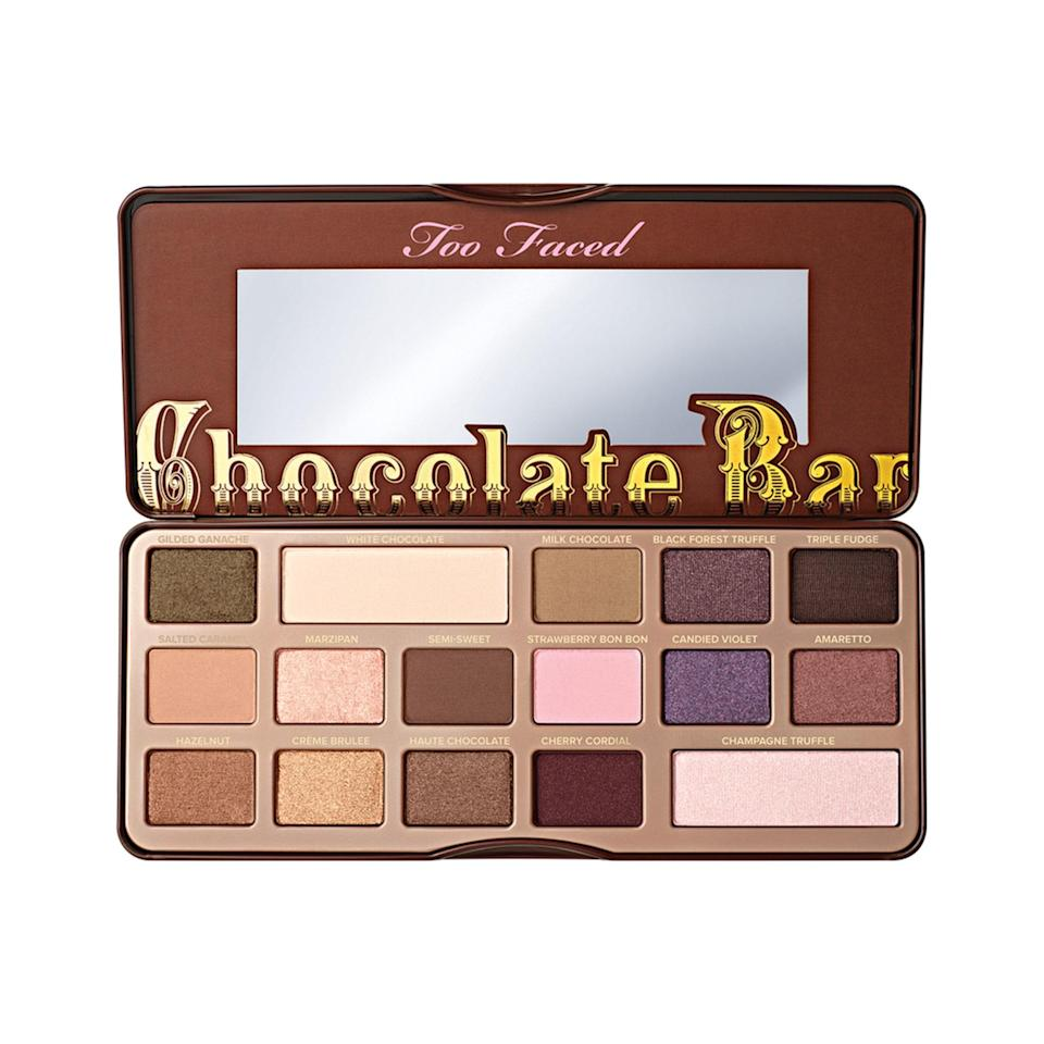 Leave it to Too Faced to hit us with a palette that's even more indulgent than a slice of chocolate cake. The 16 cocoa-infused (and cocoa-scented) shades in the brand's Chocolate Bar palette quickly won fans over and the rest, as they say, is eye shadow palette history.