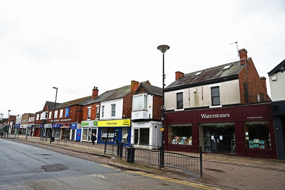 A quiet high street in West Bridgford, Nottingham. Research shows shops in Britain closed at an average of nearly 50 per day during the first half of the year (Tim Goode/PA) (PA Archive)