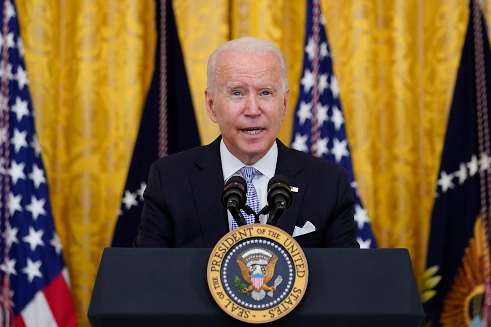Biden August Push (Copyright 2021 The Associated Press. All rights reserved.)