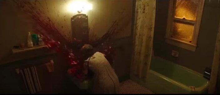 Blood coming out of a sink, from the movie It