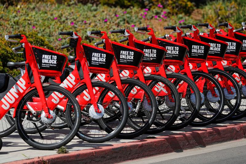 Uber says will not share electric bike rider data with Los Angeles