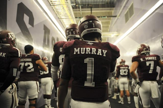 Kyler Murray was rated as the top quarterback prospect in Texas in the class of 2015. (Photo by Eric Christian Smith/Getty Images)