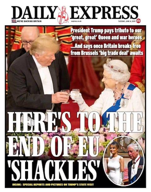 Daily Express - Credit: Daily Express