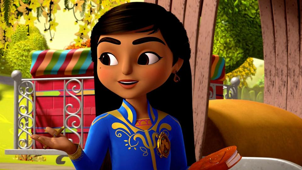 'Mira, Royal Detective'. (Credit: Disney)