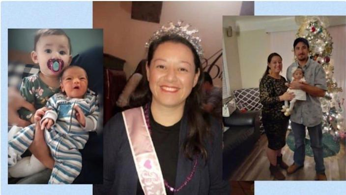 Erika Becerra succumbed to coronavirus after giving birth to her son, Diego.
