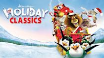 """<p>This collection features your favorite cartoon characters, like Shrek, Donkey, and the cast of mischievous penguins from <em>Madagascar</em>. </p><p><a class=""""link rapid-noclick-resp"""" href=""""https://www.netflix.com/title/70221348"""" rel=""""nofollow noopener"""" target=""""_blank"""" data-ylk=""""slk:STREAM NOW"""">STREAM NOW</a></p>"""