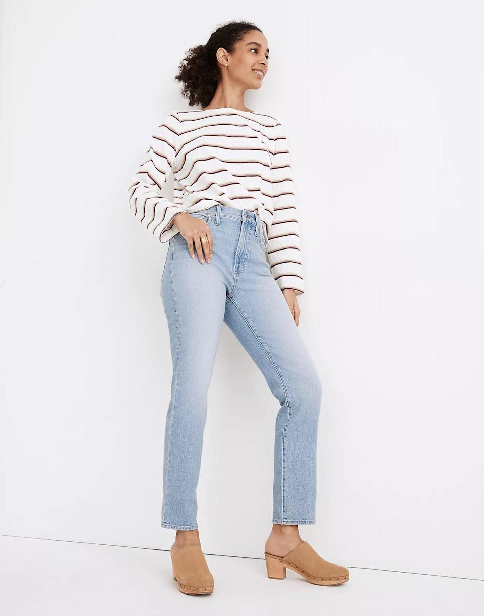 <p>It doesn't get more cool and casual than these <span>Madewell The Perfect Vintage Jeans</span> ($115). The light-wash look is still versatile enough to rock during any season.</p>
