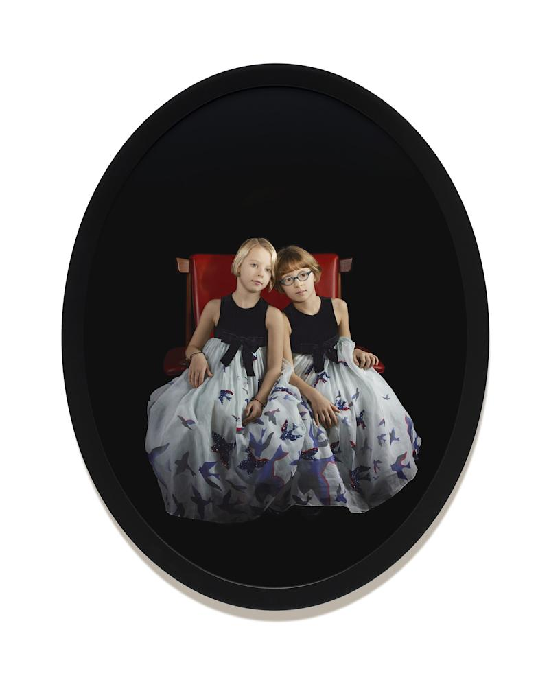 A Catherine Opie portrait of Maura and Isabella.