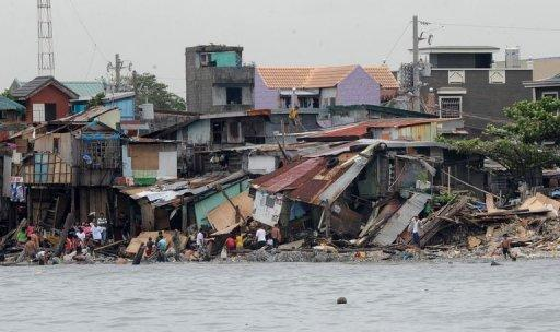 Manila says 39 people are still missing after Typhoon Nesat swept through the Philippines