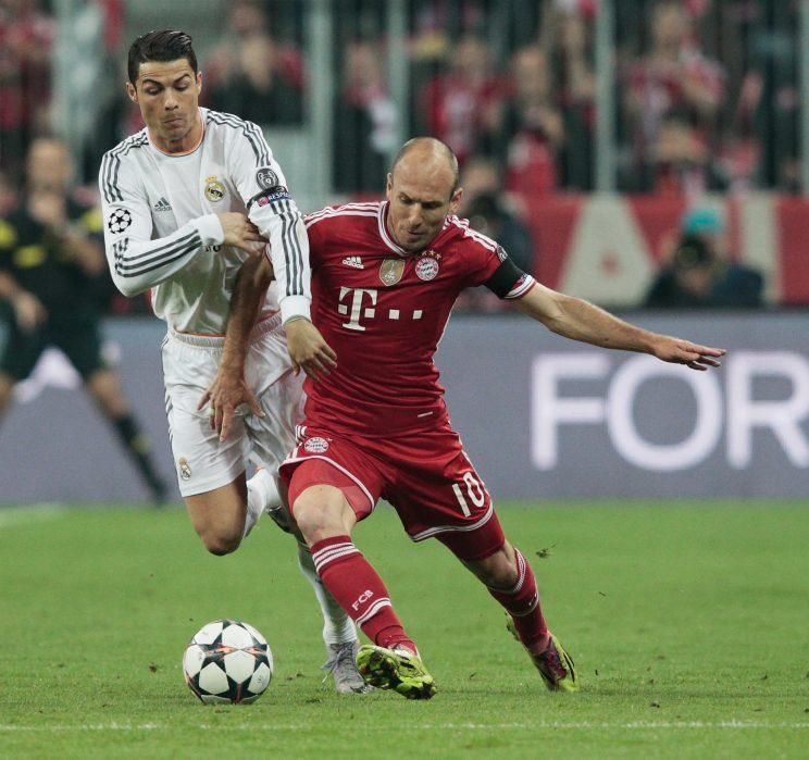 FC Bayern München, Real Madrid, Champions League