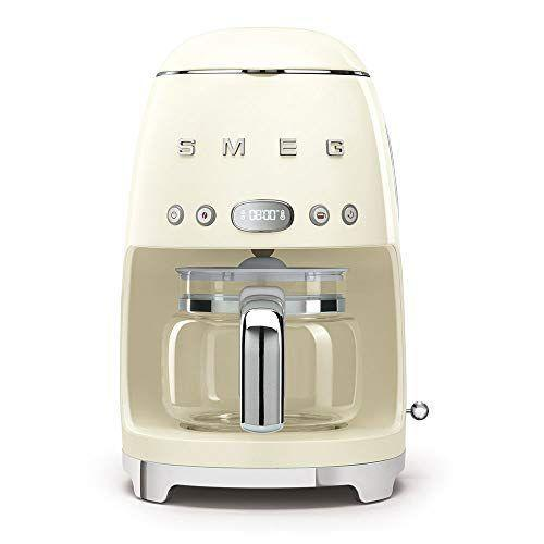 """<p><strong>Smeg</strong></p><p>amazon.com</p><p><strong>$199.95</strong></p><p><a href=""""https://www.amazon.com/dp/B07RJTPR4Y?tag=syn-yahoo-20&ascsubtag=%5Bartid%7C10067.g.19408606%5Bsrc%7Cyahoo-us"""" rel=""""nofollow noopener"""" target=""""_blank"""" data-ylk=""""slk:Shop Now"""" class=""""link rapid-noclick-resp"""">Shop Now</a></p><p>Upgrade her morning brew with a coffee maker that is so stylish, she'll want to keep it out for her guests to see. </p><p><strong>More: </strong><a href=""""https://www.townandcountrymag.com/leisure/drinks/g26064458/gifts-for-coffee-lovers/"""" rel=""""nofollow noopener"""" target=""""_blank"""" data-ylk=""""slk:Buzzy Gifts for Coffee Lovers"""" class=""""link rapid-noclick-resp"""">Buzzy Gifts for Coffee Lovers</a></p>"""