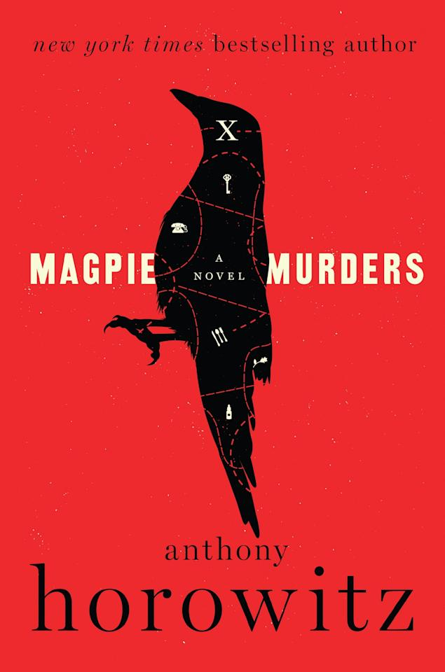 "<p>British author Anthony Horowitz tackles the world of publishing with his latest foray into fictional crime: <a rel=""nofollow"" href=""https://www.amazon.com/Magpie-Murders-Novel-Anthony-Horowitz/dp/0062645226""><strong>Magpie Murders</strong></a>. When an editor is given a writer who has written disturbing, but massively successful, novels for years, she doesn't think much of it - until she realizes that perhaps the crime is one that exists outside of the pages she's been given. Can she resist getting pulled into an entirely new world of power, money, and murder?</p><p><em>Out June 6</em></p>"