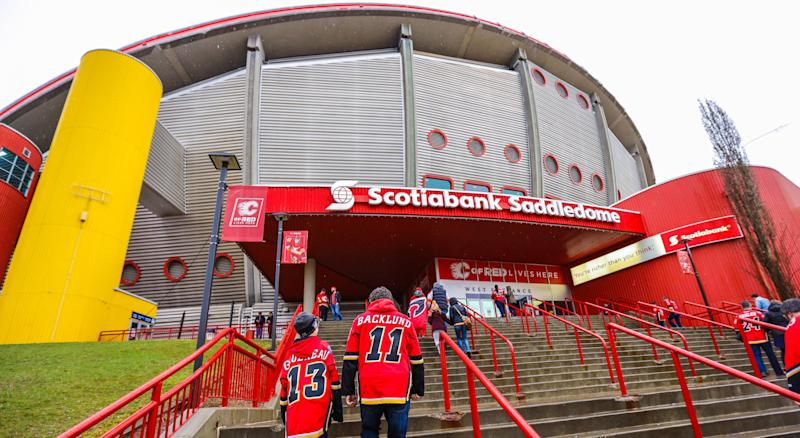 The Calgary Flames will soon have a new place to call home. (Sergei Belski-USA TODAY Sports)
