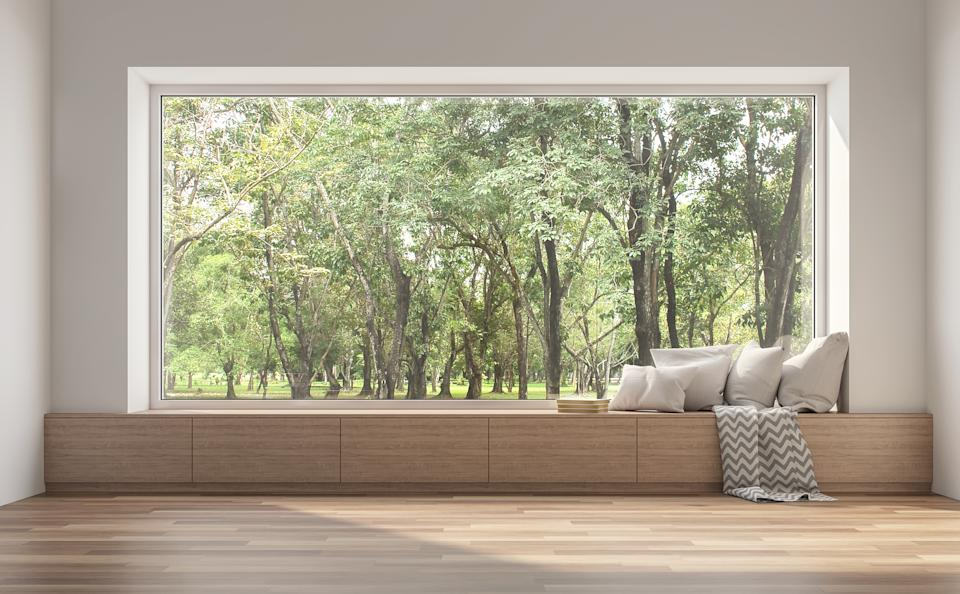 A big picture window will give your home a sense of harmony, but it's not the only option (Getty Images)