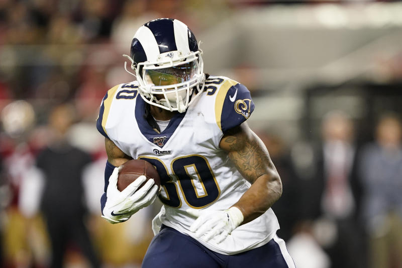Todd Gurley is signing a one-year deal with the Falcons. (Tony Avelar/AP)