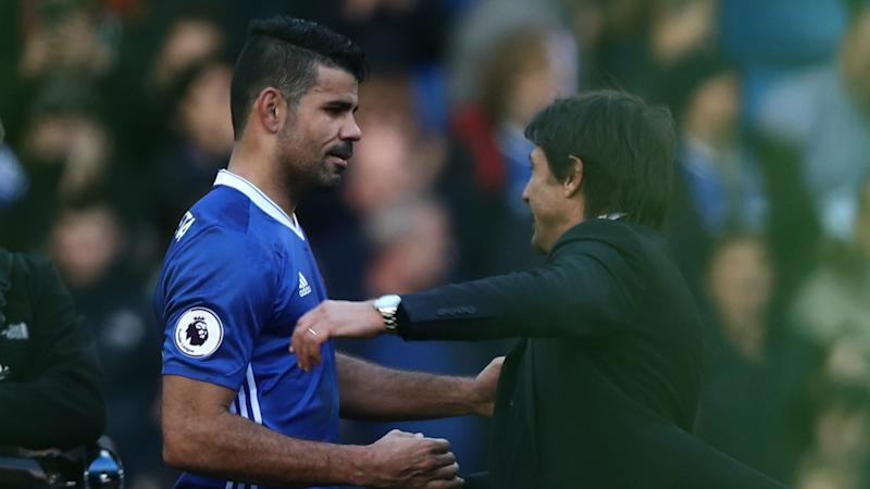 Cheeky Costa takes swipe at Chelsea's Conte