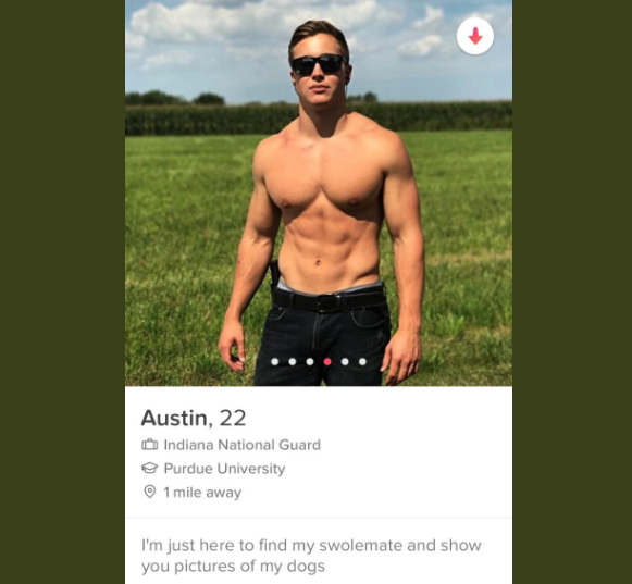 Austin was matched with Emma on Tinder and got in touch about the tickets. Photo: Twitter