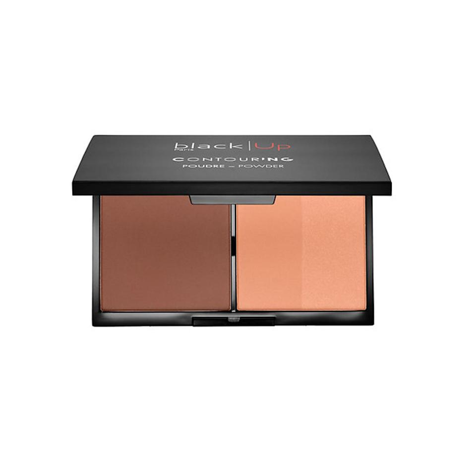 """<p><strong>Black Up Contour Powder</strong></p> <p>The color payoff of these coordinating matte shades is incredibly intense. In fact, they were specially formulated for darker skin tones, so they won't look chalky or ashy. Plus, just look at those pans—they're huge.</p> <p>$45 (<a href=""""http://www.sephora.com/contour-powder-P409812?mbid=synd_yahoobeauty"""" rel=""""nofollow noopener"""" target=""""_blank"""" data-ylk=""""slk:Sephora.com"""" class=""""link rapid-noclick-resp"""">Sephora.com</a>).</p>"""