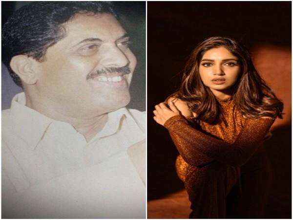 Bhumi Pednekar and her late father (Image Source: Instagram)