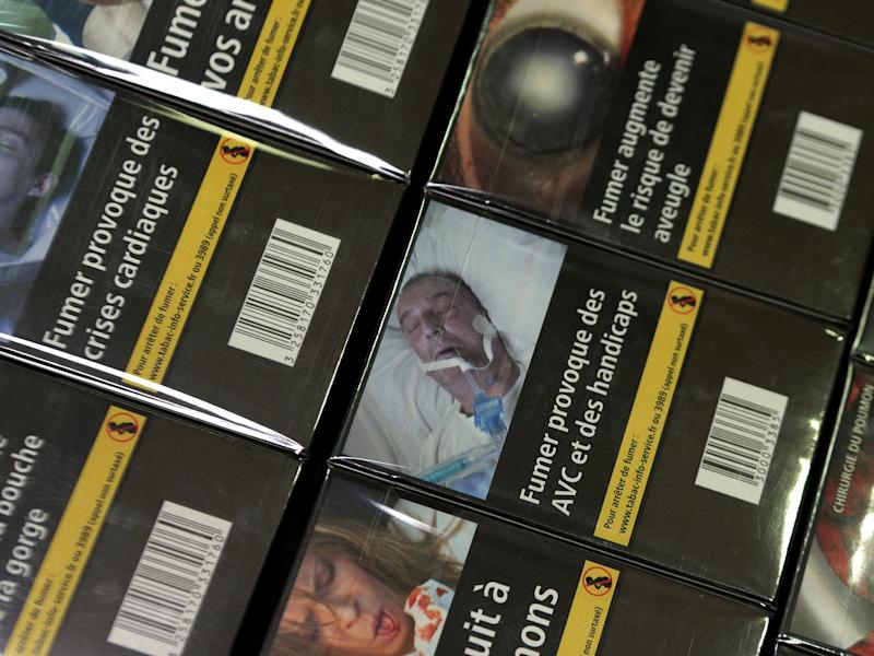 An Albanian man claims an image of his amputated leg is being used on EU cigarette packets without his consent: Getty