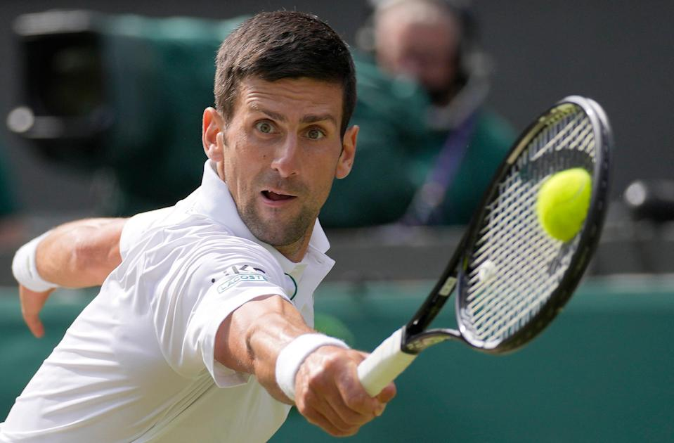 Serbia's Novak Djokovic is seeded No. 1 for the 2021 US Open, the year's last Grand Slam tennis tournament.