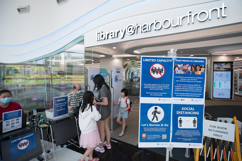 Library@Harbourfront public library (PHOTO: National Library Board