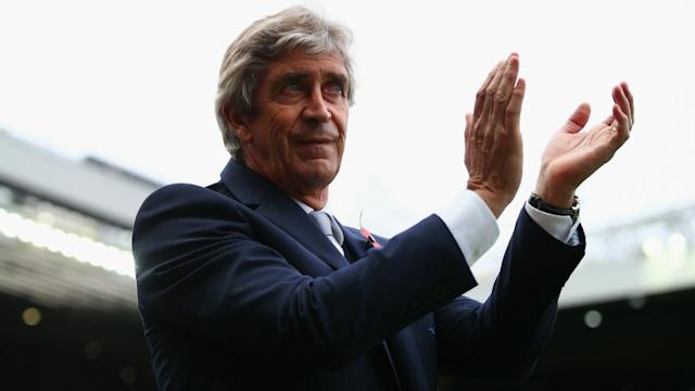 "Manuel Pellegrini, the new West Ham manager, intends to take the club back into Europe with ""attacking football""."