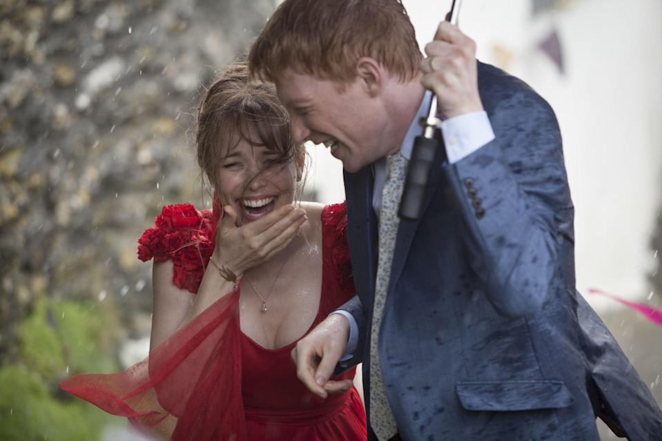 Domhnall Gleeson and Rachel McAdams in About Time (Moviestore/Shutterstock)