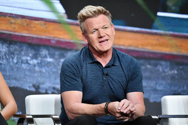 BEVERLY HILLS, CALIFORNIA - JULY 23: Gordon Ramsay attends the TCA panel for National Geographic Channels' Gordon Ramsay: Uncharted at The Beverly Hilton Hotel on July 23, 2019 in Beverly Hills, California. (Photo by Amy Sussman/Getty Images)
