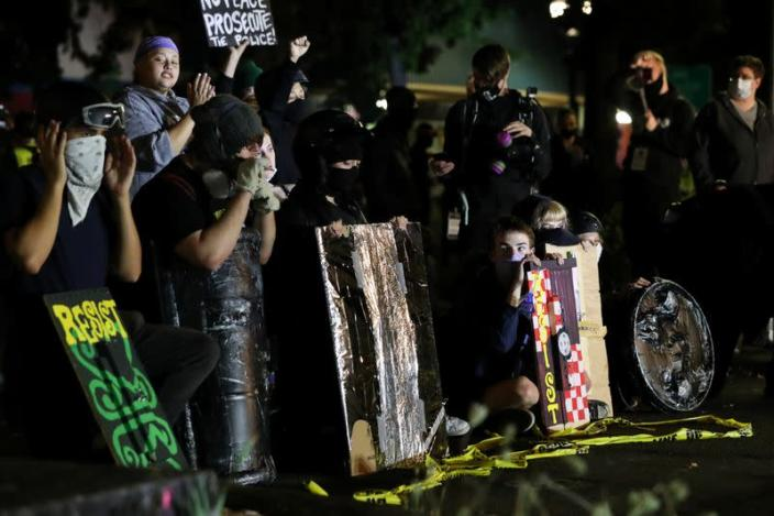 Protests against police violence and racial inequality continue in Portland