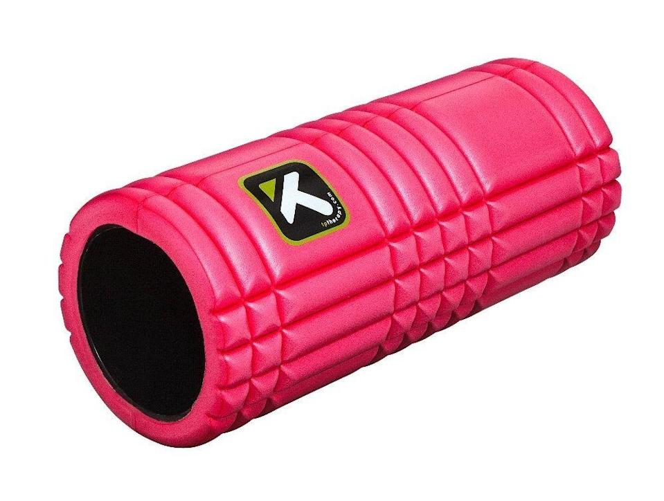 "<p>Remind the gym rat in your life that recovery is just as important. <a href=""http://www.amazon.com/TriggerPoint-GRID-Foam-Roller-Instructional-Original-13-inch/dp/B0040EKZDY%3Fpsc%3D1%26SubscriptionId%3DAKIAIXRCKIWRJ6HMD2WA%26tag%3Dnmrkt-5-20%26linkCode%3Dxm2%26camp%3D2025%26creative%3D165953%26creativeASIN%3DB0040EKZDY"" rel=""nofollow noopener"" target=""_blank"" data-ylk=""slk:Triggerpoint Grid Foam Roller"" class=""link rapid-noclick-resp"">Triggerpoint Grid Foam Roller</a> ($32)</p>"