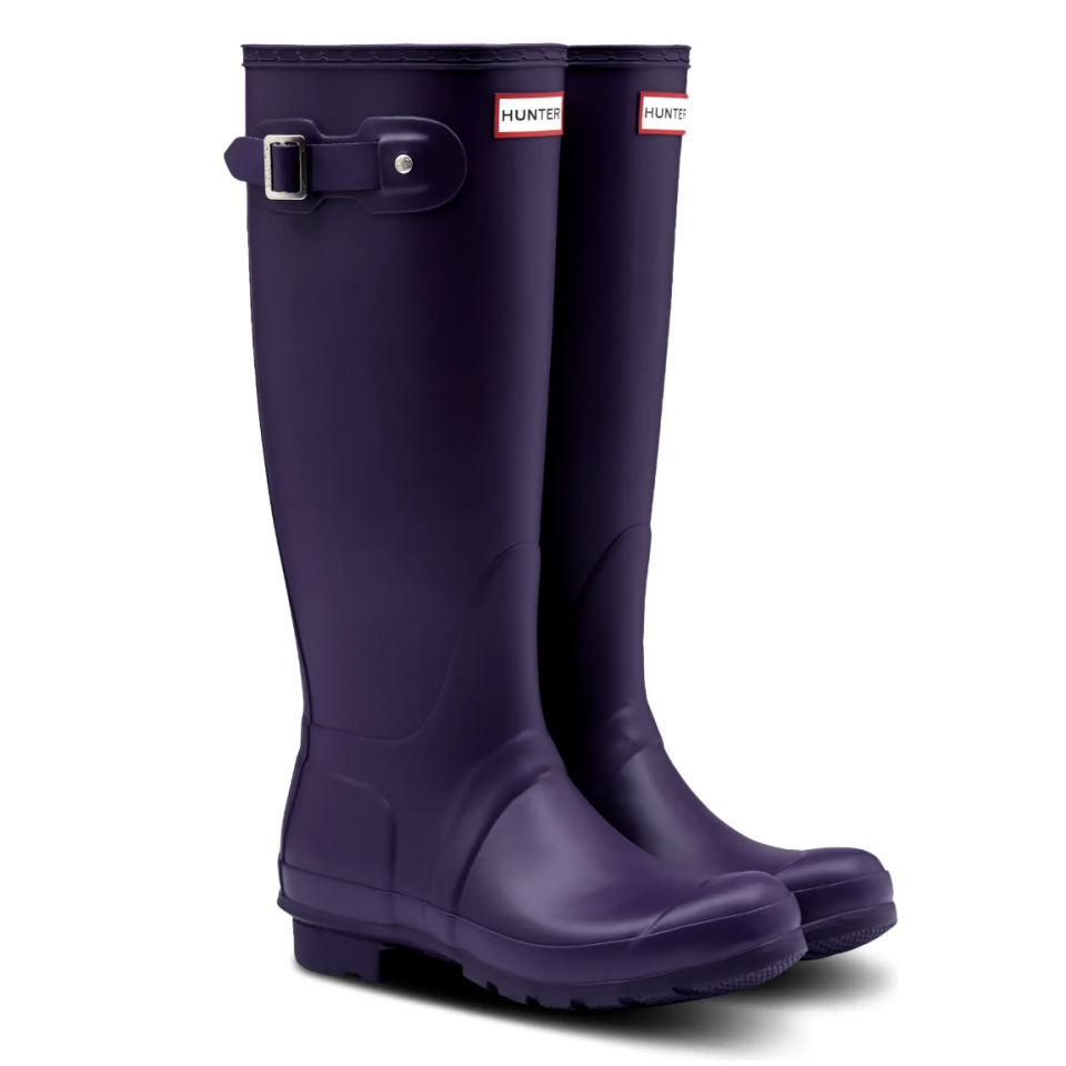 Original Tall Waterproof Rain Boot - Hunter, $90 (originally $150)