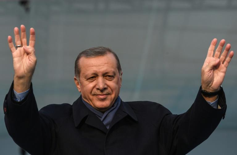 Turkish President Recep Tayyip Erdogan is used to winning elections