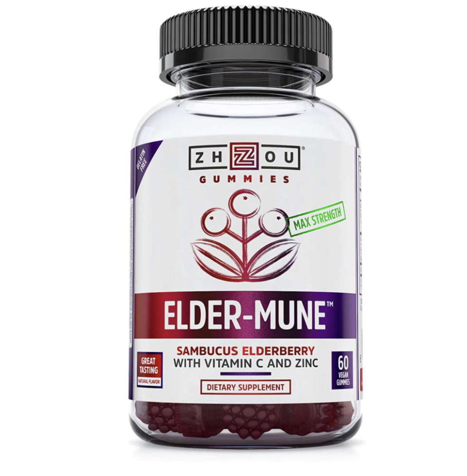 Zhou Elder-Mune Sambucus Elderberry Gummies (Photo: Amazon)