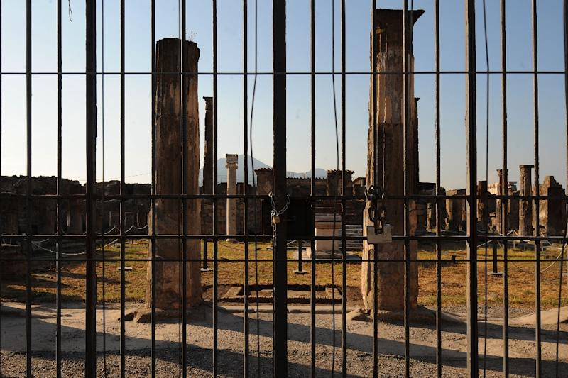 Pompeii is rising from the ashes again -- despite the worst that Italy's mafia, and bureaucracy, could throw at it (AFP Photo/Mario Laporta)