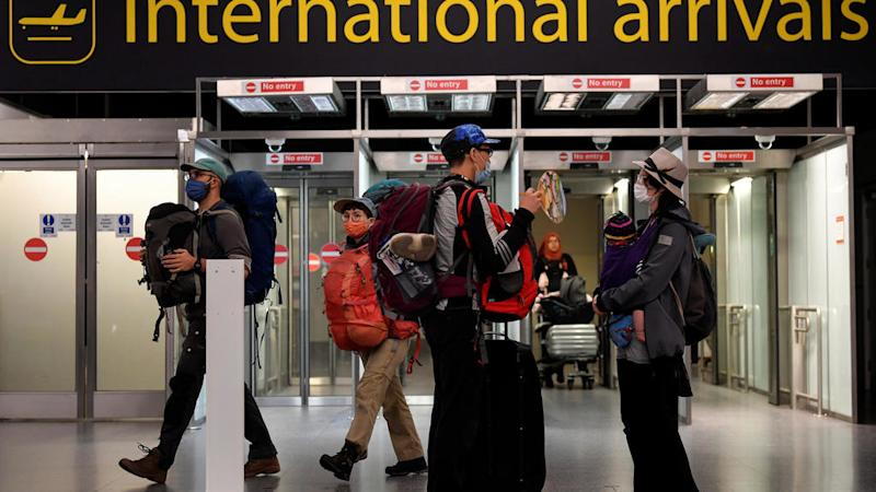 UK travellers hope to salvage holidays as government eases quarantine rules