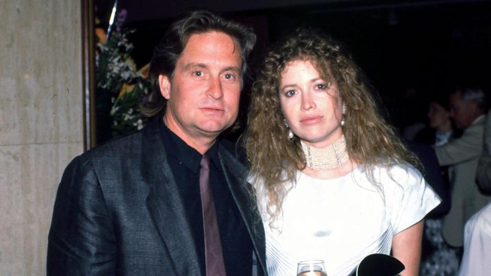 Mandatory Credit: Photo by BEI/REX/Shutterstock (4667884p)Michael Douglas and Diandra Douglas Archive Photos.