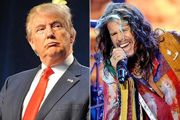 Steven Tyler Sends Donald Trump Cease and Desist Over Campaign Use of 'Dream On'