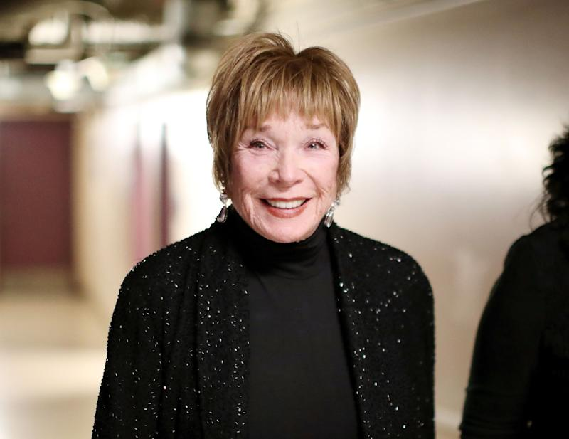 Shirley MacLaine Wore Chico's to the Oscars