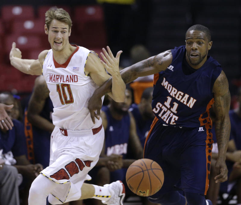 Layman leads Maryland past Morgan State 89-62