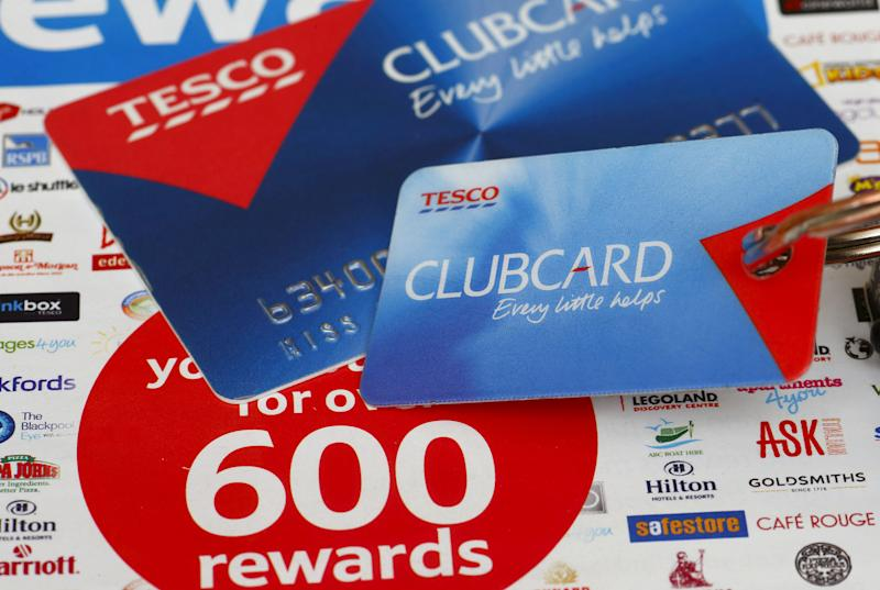 A general view of a Tesco Clubcard as Tesco has asked police to investigate claims that dozens of its customers' Clubcard accounts may have fallen victim to an online fraud. (Photo by Chris Ison/PA Images via Getty Images)